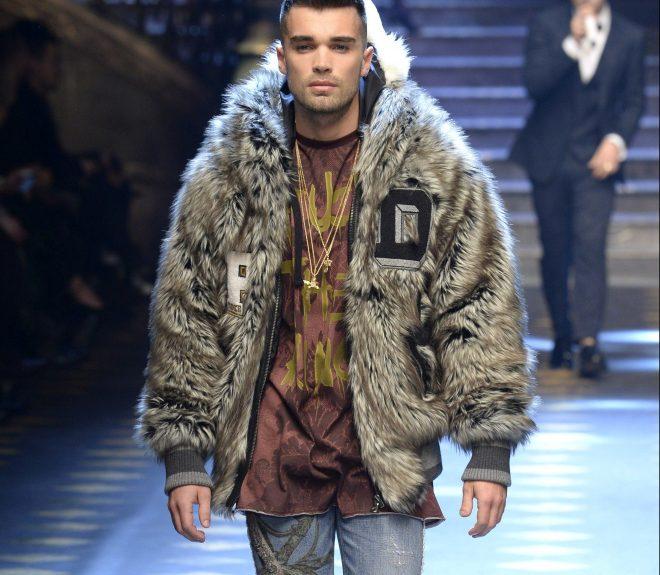 Dolce Gabbana Menswear FW17 Fashion Show